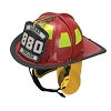 Cairns® 880 Traditional Fire Helmet - (Bourke Eye Shields and Innersole II Goggle System)